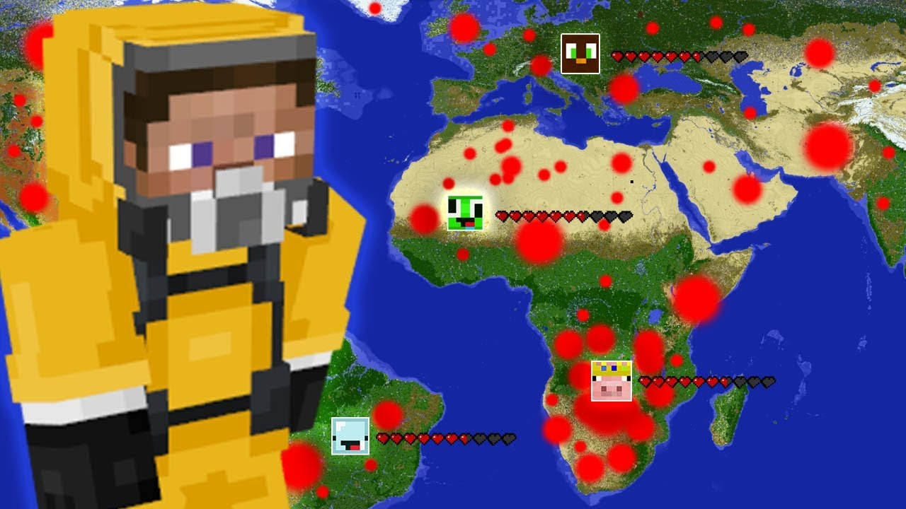This Minecraft Earth Server created its own DEADLY VIRUS
