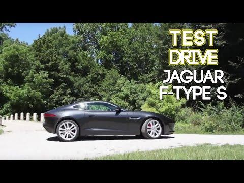 Test Drive  Jaguar FType S  Prova su Strada