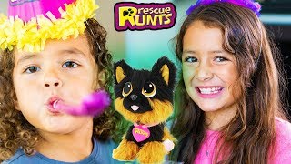 Rescue Runts Adoption Party! Awesome Educational Toys!