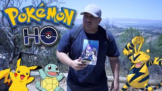 THEY GOT ME OUT HERE SWEATIN!! [POKEMON GO]