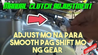 Manual clutch problem Ang solution diba ok