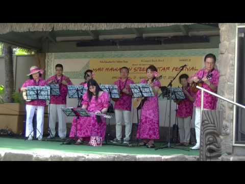 Yokohama Hawaiian Music Band-Blue Hawaiian Moon Light