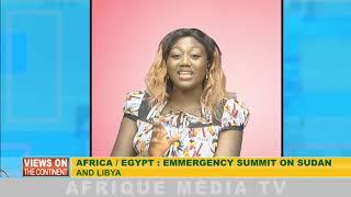 AFRICA / EGYPT : EMERGENCY SUMMIT ON SUDAN AND LIBYA AFRICA : WORLD PRESS FREEDOM