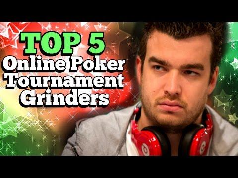Top 5 Online Poker Tournament Grinders