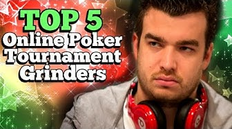 Top 5 Online Poker Tournament Grinders