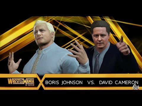 Boris Johnson vs David Cameron
