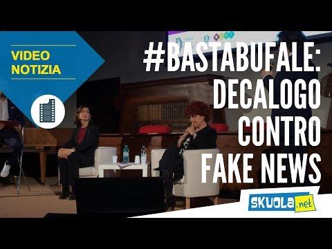 #BastaBufale: il decalogo contro le fake news