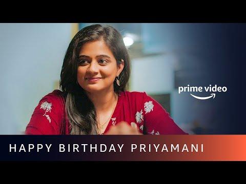 Happy Birthday Priyamani | Amazon Prime Video #shorts