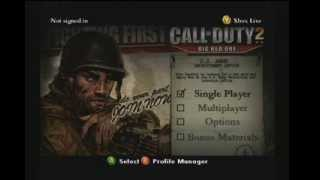 Call of Duty 2 The Big Red One : Walkthrough Part 1