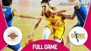 Nadezhda (RUS) v ZVVZ USK Praha (CZE) - Quarter-Final - Full Game - EuroLeague Women 2016/17