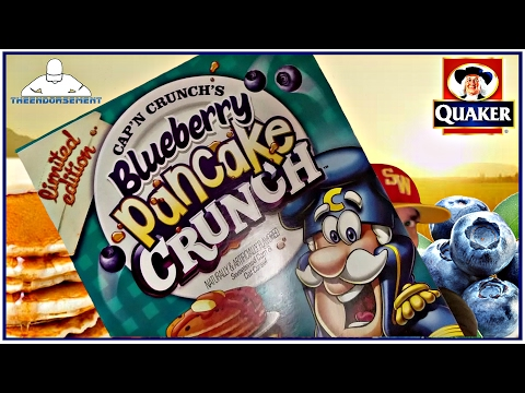 CAP'N CRUNCH'S®   BLUEBERRY PANCAKE CRUNCH™ CEREAL REVIEW    THEENDORSEMENT