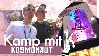 Weltraum Campingplatz bauen |Kosmonaut Festival | Kliemannsland