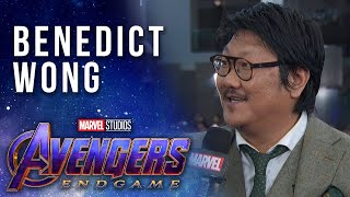 Benedict Wong at the Premiere