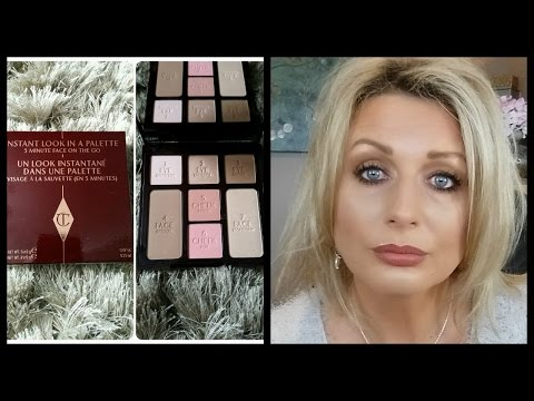 CHARLOTTE TILBURY INSTANT LOOK IN A PALETTE- DEMO & REVIEW