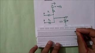 AND GATE USING DIODES(everything explained!)