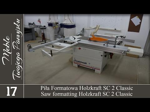 Piła formatowa Holzkraft minimax sc 2 classic / Saw formatting Holzkraft minimax sc 2 classic