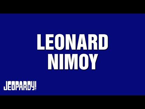 Jeopardy! | LEONARD NIMOY Category Highlights