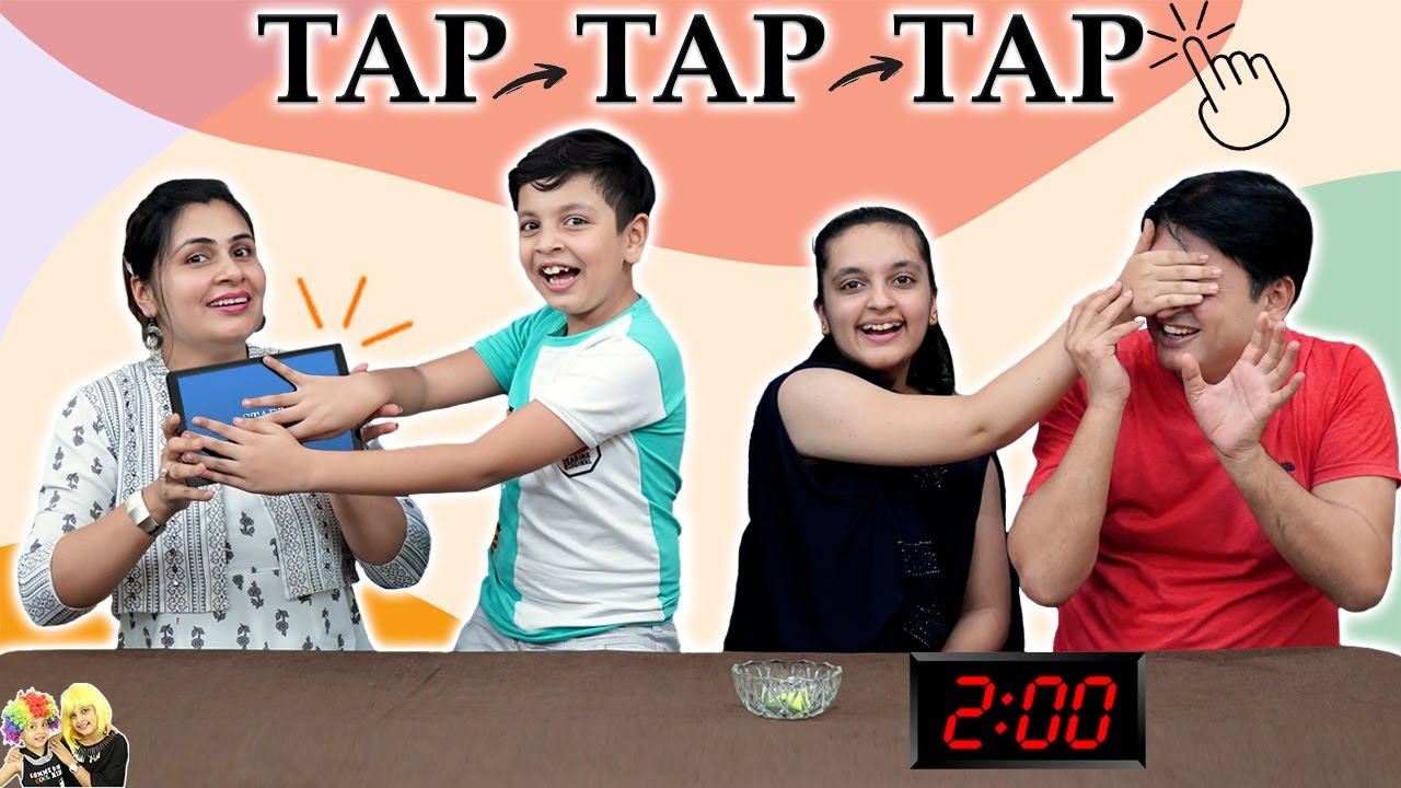 TAP TAP TAP | Family Comedy Challenge | Heads Up Game | Aayu and Pihu Show