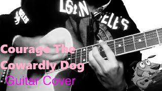 Courage The Cowardly Dog | Ending Theme | Cartoon Network (Guitar Cover) by Shahrukh Zafar |2019