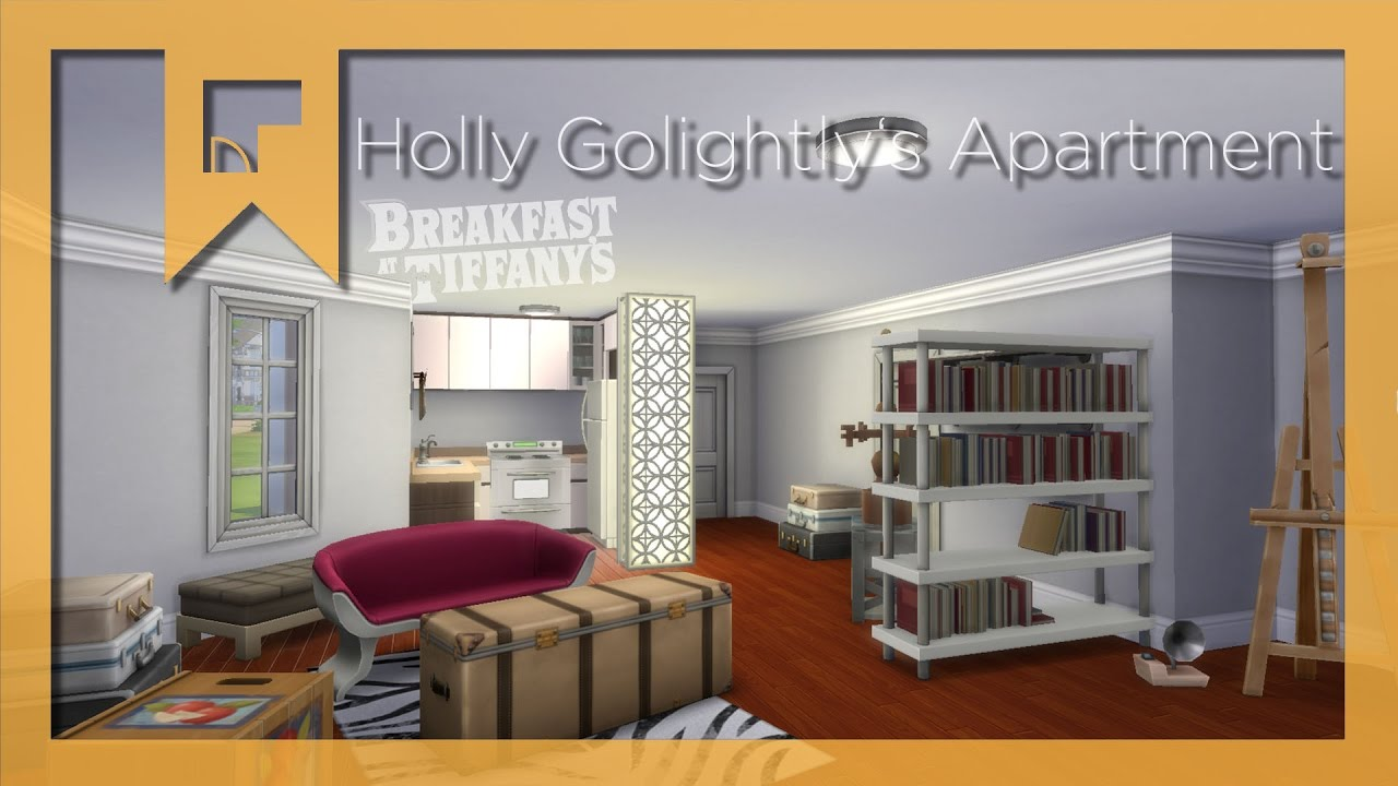 Holly Golightly S Apartment Sims 4 Room Build X Breakfast At Tiffany