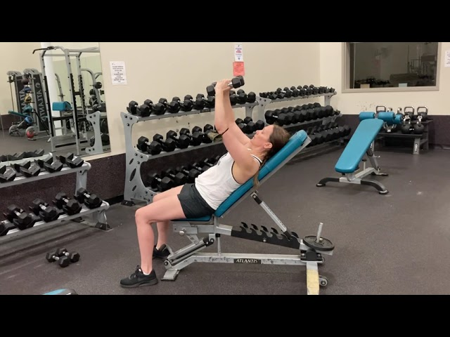 Bring the Y Home: Dumbbell Fly Incline