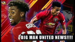 BIG Mason Greenwood & Angel Gomes News! Man United News