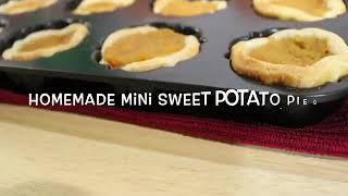 Homemade Mini Sweet Potato Pies