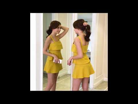 STRAPPY LAYER DRESS KF2718