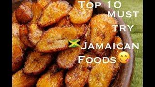 Video Top Ten Must try Jamaican Foods download MP3, 3GP, MP4, WEBM, AVI, FLV Juli 2018