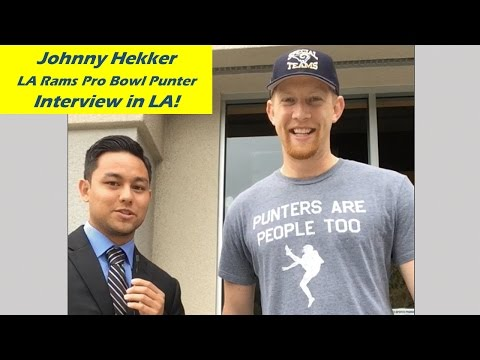 Johnny Hekker Autograph Event 3-5-16 by Champ