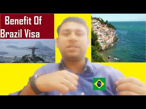 Brazil Country : Benefit Of Brazil Visa