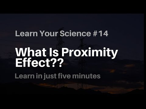 What Is Proximity Effect?? Learn Your Science #14