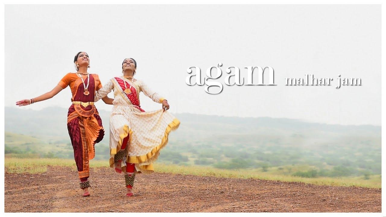 Agam Malhar Jam | Dance Cover by Krupal Sompura (Kathak) & Pallavee Rathod (Bharatnatyam)