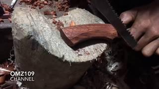 Gagang pisau model biasa simpel dan keren | membuat gagag