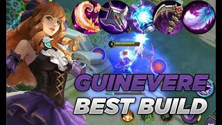 NEW HERO GUINEVERE GAMEPLAY BEST BUILD GUINEVERE MOBILE LEGENDS: BANG BANG