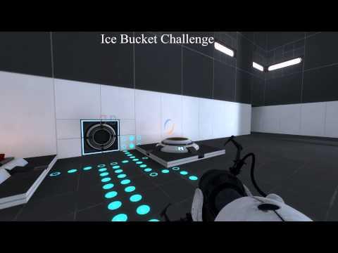 Portal 2 Ice Bucket Challenge