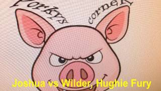 Joshua Versus Wilder Blast