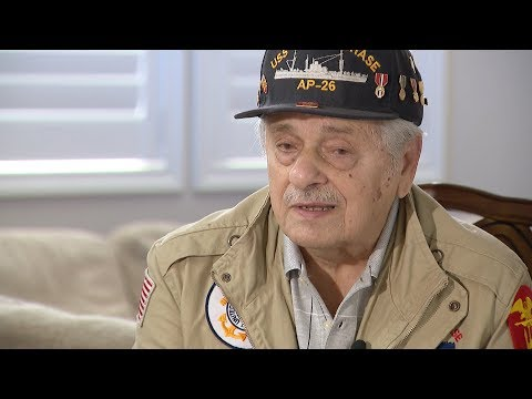 RAW: WWII veteran recalls storming Omaha Beach on D-Day