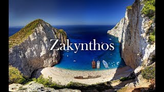 Zakynthos  -Zante - Greece travel 4k (drone)