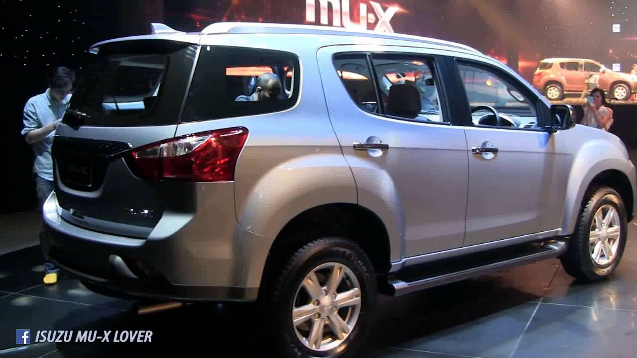 new isuzu mux 2014 version thailand youtube