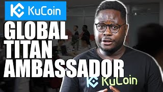 Ian Balina Visits Kucoin Offices for Exclusive Interview | Global Titan Ambassador