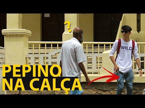PEDINDO INFORMAÇÃO COM PEPINO NA CALÇA - MENCO RESPONDE 26
