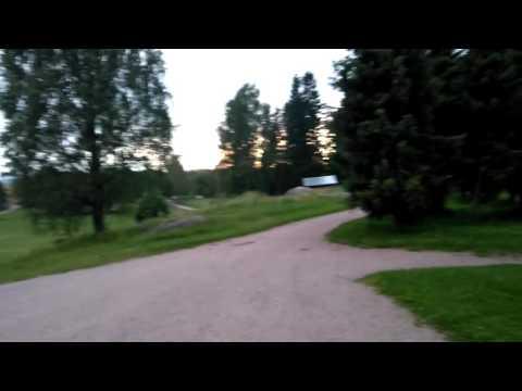 Camping in Helsinki, Finland. Grillikatos Luukissa