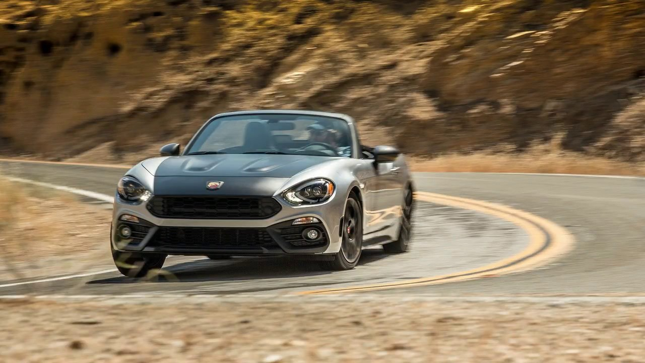 2017 Fiat 124 Spider Abarth 0-60 | Best new cars for 2018