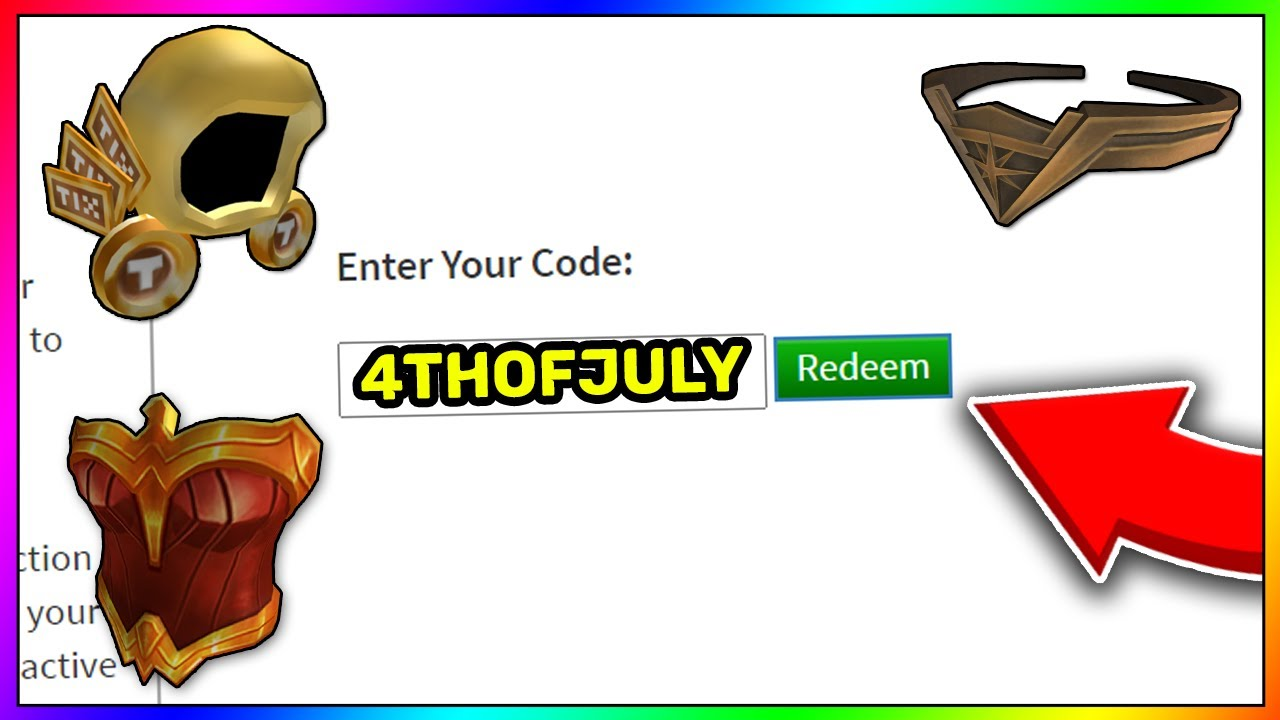 July Roblox Promo Codes 2020 Roblox Codes Wonder Woman Event