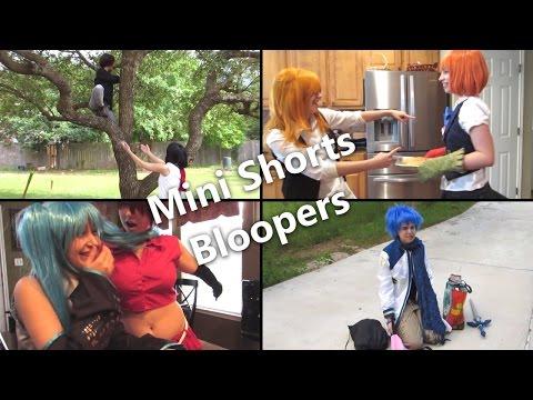 [CosplayGenkai] Mini Shorts - Bloopers