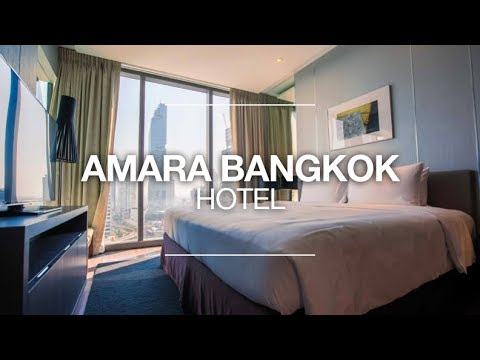 AMARA BANGKOK HOTEL REVIEW -  CLUB ROOM #2310 - NEAR PATPONG & SILOM ROAD