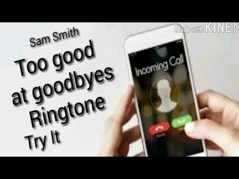 Sam smith - Too good at goodbyes | Ringtone | Try It (instrumental)