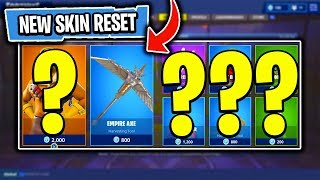 The BRAND NEW Daily Skin Items In Fortnite: Battle Royale! (Skin Reset #31)
