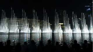 Burj Khalifa Water Fountain With Hindi Song